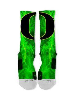 Oregon Ducks Lebron 11 Fast Shipping!! Nike Elite Socks Customized Jordans on Etsy, $26.00