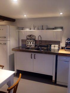 bloc kitchen | peat - painted white | small kitchens | pinterest ... - Ikea Küche Einzelelemente