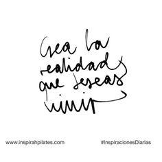 Crea la realidad que deseas vivir  #InspirahcionesDiarias por @CandiaRaquel  Inspirah mueve y crea la realidad que deseas vivir en:  http://ift.tt/1LPkaRs