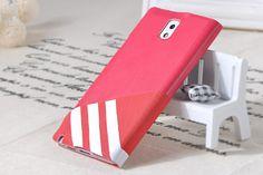 Remax Samsung Galaxy Note 3 Parkour Flip Cover Kılıf Pembe