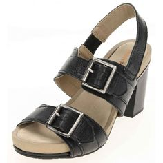 2d4bf75cc90d Jenny Wren Footwear · Ladies Sandals · Block Heel Platform Sandals