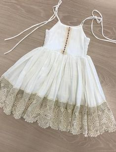 Daydresses Beach Babe Dress Beach B - Diy Crafts Baby Girl Frocks, Baby Girl Party Dresses, Frocks For Girls, Dresses Kids Girl, Girl Outfits, Dress Girl, Girls Frock Design, Kids Frocks Design, Baby Frocks Designs