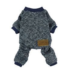 Fitwarm Knitted Thermal Pet Clothes for Dog Pajamas PJS Coat Jumpsuit Medium *** Want additional info? Click on the image. (This is an affiliate link)