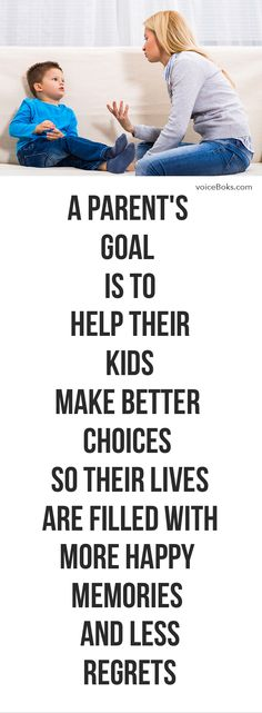 Absolutely! Making better choices is what most parents want for their kids!