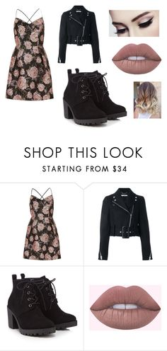 """Spring #5"" by bre-winter ❤ liked on Polyvore featuring River Island, Givenchy and Red Herring"