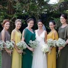 California Picnic Wedding by Alders Photography, with fabulous bridesmaids dresses made by the Brides own fashion line.