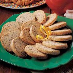 Lemon poppy seed slices