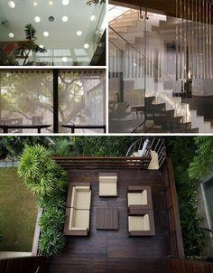Design Interior da Casa dos Sonhos por Morphogenesis Arquitetura