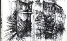 Artist Sketch Books | Sketchbook Gallery » Ian Murphy Artist
