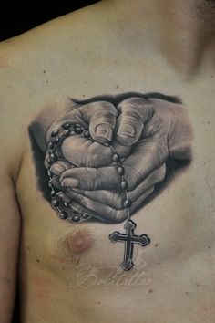 Praying Hands Tattoo.. https://www.facebook.com/Bokitattoo?__nodl