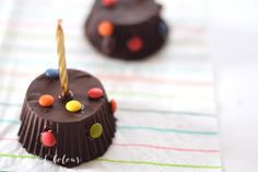 Mini piñata de chocolate/ Chocolate mini pinata