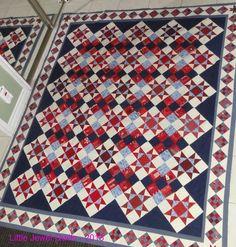Stars & Nines by Ellen of Little Jewel Quilts