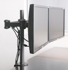 Amazon.com: Dual LCD Monitor Desk Mount Stand Heavy Duty Fully Adjustable fits 2 /Two Screens up to 27 ~ (by VIVO) $58.89