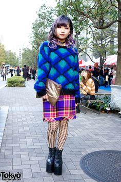 YOU, 18 year old indie J-Pop singer & fashion school student | 25 December 2012 | #Fashion #Harajuku (原宿) #Shibuya (渋谷) #Tokyo (東京) #Japan (日本)