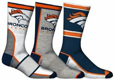 Hell Yeah!... Go Broncos!!!! Denver Broncos Funny, Denver Broncos Merchandise, Broncos Gear, Denver Broncos Football, Broncos Fans, Football Today, Win Or Lose, Peyton Manning, Crew Socks