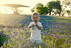 Baby Jack, 1, in the bluebonnets, Collin County, TX Copyright 2013 Kaci Fording Photography