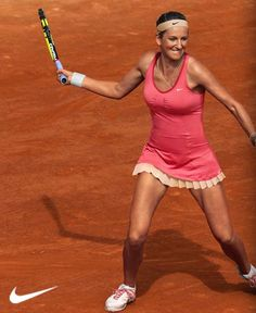 Azarenka's French Open dress