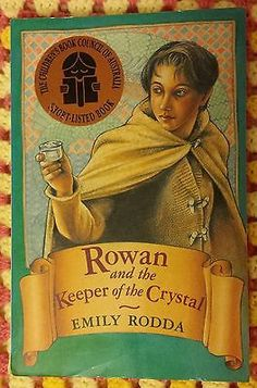 rowan and the keeper of the crystal book review