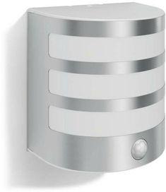 8623BSWH Art Deco Modern Brushed Steel