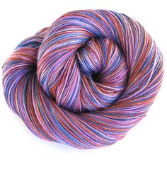 Hand Dyed Bamboo Yarn Plum Spice Weaving Yarn Knitting Yarn Fingering Weight