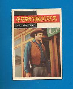 1958 Topps TV Westerns Gunsmoke Tall and Tough #15 NM-MT