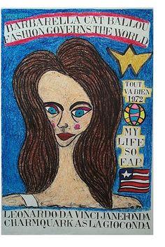 Jane Fonda Fashion La Gioconda