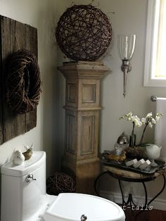 Another Idea for the Old Porch Pillars