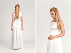 Brautkleider 2017: Soeur Coeur Kollektionsstart | Hochzeitskleid für werdende Mütter #schwanger