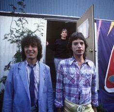 Bill Wyman, Charlie Watts, Mick Jagger