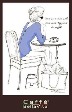 Un disegno un solo caffè