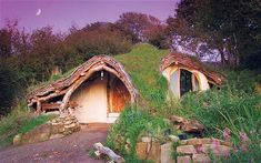 The first eco-home Simon Dale built