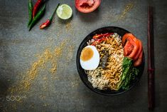 Instant noodles by Aryut Tantisoonthornchai on 500px