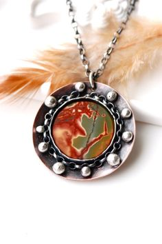 Spring In My Soul Necklace Handcrafted in Copper and by EONDesign, $84.00