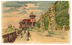 Exposição Nacional de 1908 - Restaurante Rústico