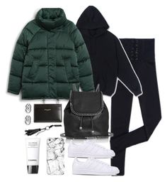 """""""Untitled #4720"""" by theeuropeancloset on Polyvore featuring Monki, STELLA McCARTNEY, Casetify, Chanel, adidas Originals, Yves Saint Laurent and Gucci"""