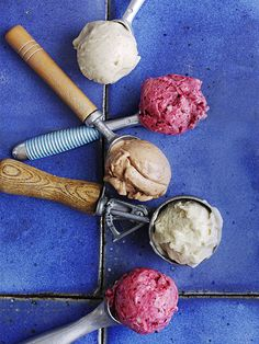 No-churn banana ice cream - Dairy-free, no-churn, no-effort ice cream. Plus it's healthy! What's not to love? Once you're confident, why not try experimenting with different flavours.