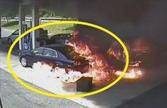 OMG! Cop Saves Man From Burning Car Watch this incredible rescue caught on camera.