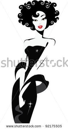 Siluetas De Mujer Fotos, imágenes y retratos en stock | Shutterstock