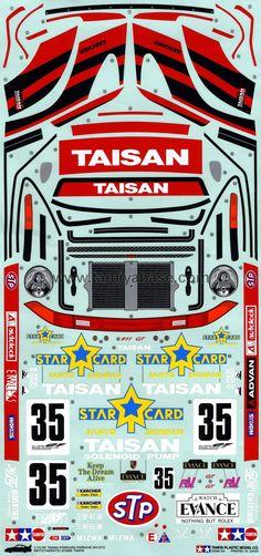 Decal Set For Tamiya Lancia Rally Car Rally Pinterest