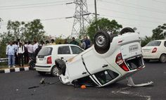"""The victim in this accident had Allstate's """"Accident Forgiveness,"""" so all she had to worry about was getting better"""