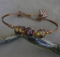 Cute Little Dainty Copper Bracelet - A JewelryArtistry Original - BR261  $14.98