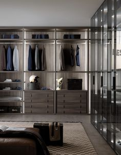 75 Most Popular stylish Walk-in Wardrobe Design Ideas Wardrobe Room, Closet Bedroom, Closet Space, Master Bedroom, Walking Closet, Walk In Wardrobe Design, Dressing Room Design, Luxury Closet, Closet Designs