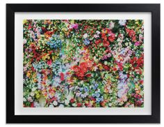 Discover the perfect floral wall art print to add a burst of color to your home decor.
