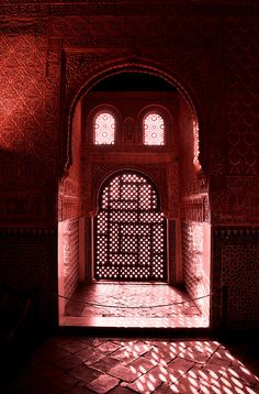 """Oh my! after reading Tariq Ali's """"Salahuddin"""" this pic provides all sorts of imagery. Gorgeous. Alhambra, Granada, Andalusia, Spain"""