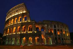 Rome, Italy - the Colosseum is one of those things that is truly magnificent when you see it in person.