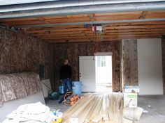 Home Design and Interior Design Gallery of Insulating A Garage Door With White