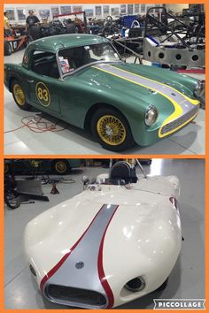 Father and son team Parker and Fred Burke will be racing their beautiful cars (Turner and Elva) in the VDCA Wild Hare Run next weekend at VIR. April 8-10, 2016 from Sasco Sports