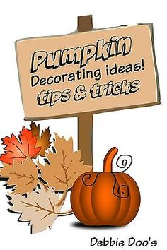 Pumpkin accessories and decorating ideas. Everything you need to create a one of a kind pumpkin this year. Real versus funkin, and what you need to know before you carve a real pumpkin. #spon