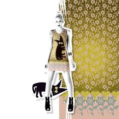 Graphic design you can wear. Created with your silhouette in mind, the graphic lines of Volt Design dresses flatter or hide your curves. Volt Design, Silhouette, Crinkles, Designer Dresses, Ready To Wear, Curves, Princess Zelda, Stylish, Fabric