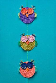 Lechuza Tejida Crochet - $ 130,00 en MercadoLibre